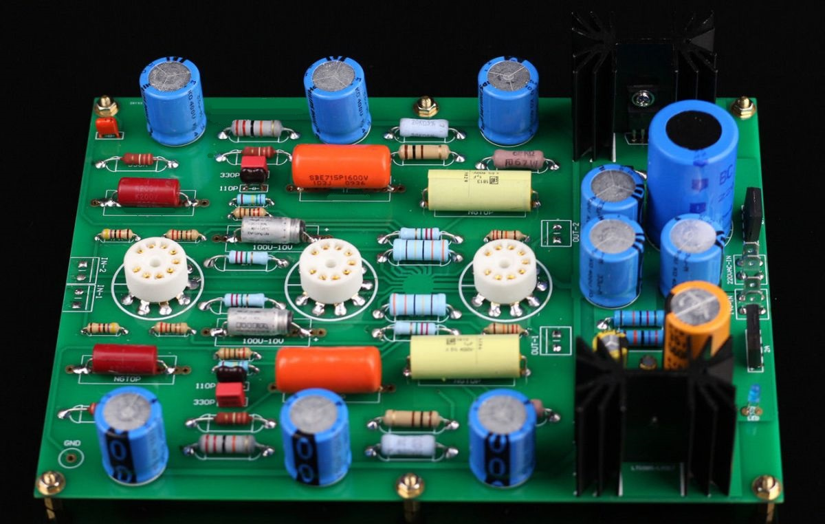 Vacuum Tube Audio preamp kits