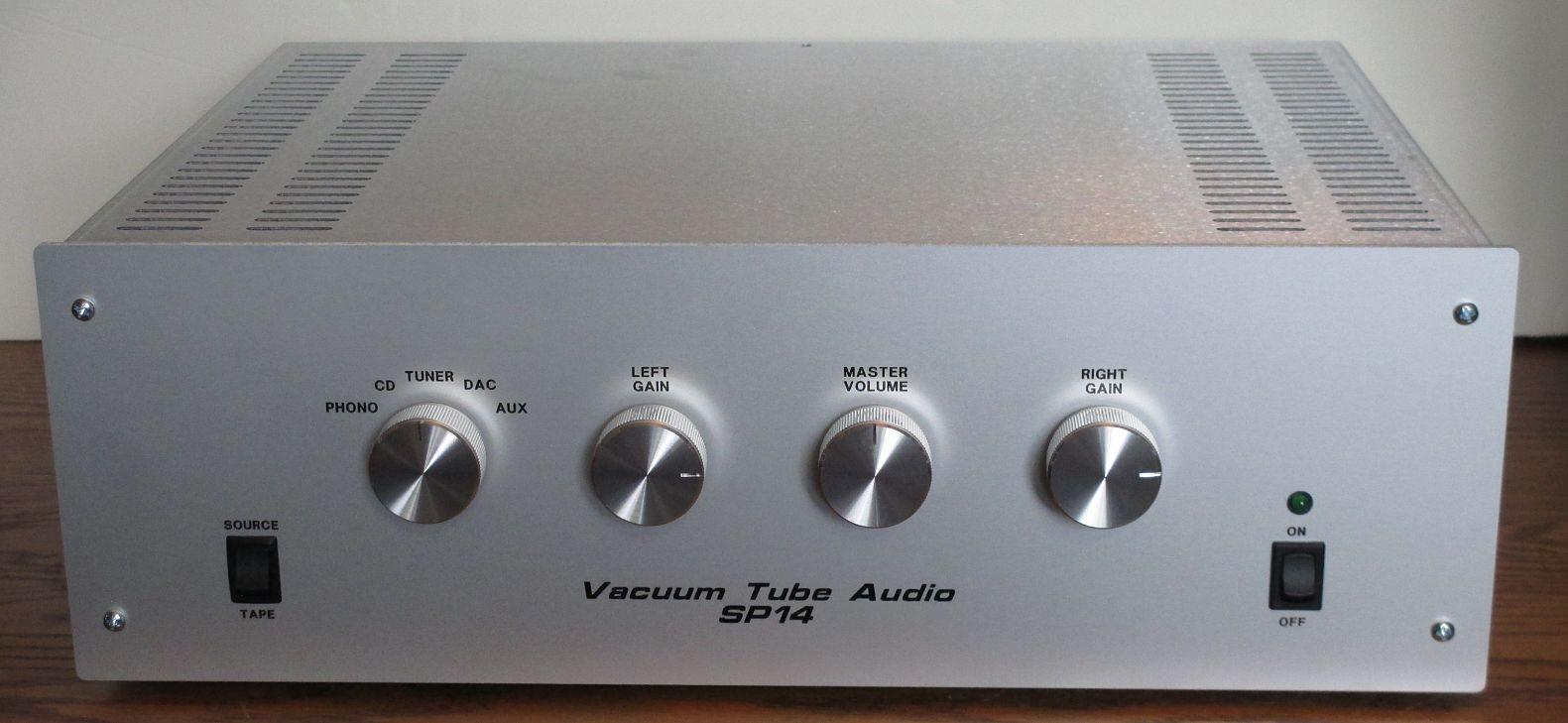 Vacuum Tube Audio preamp kits