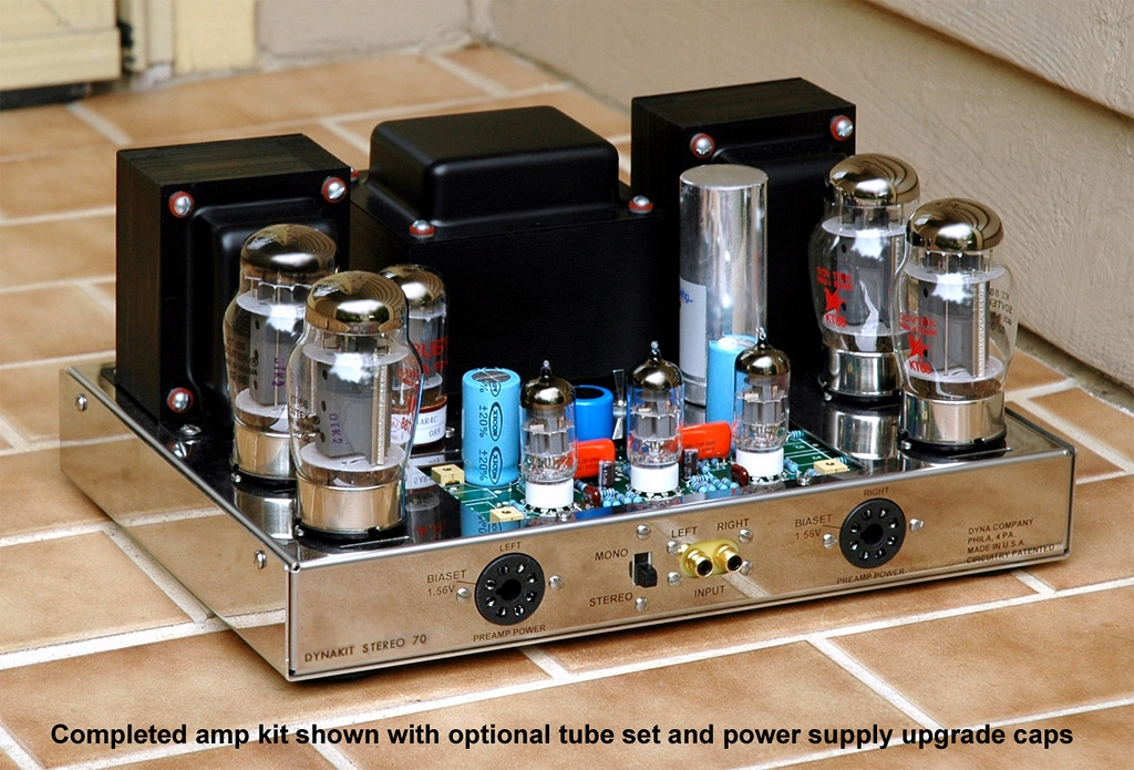 Tubes4hifi amplifier kits page customer photo of st120 solutioingenieria